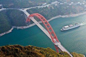 Ferry on the Yangtze river