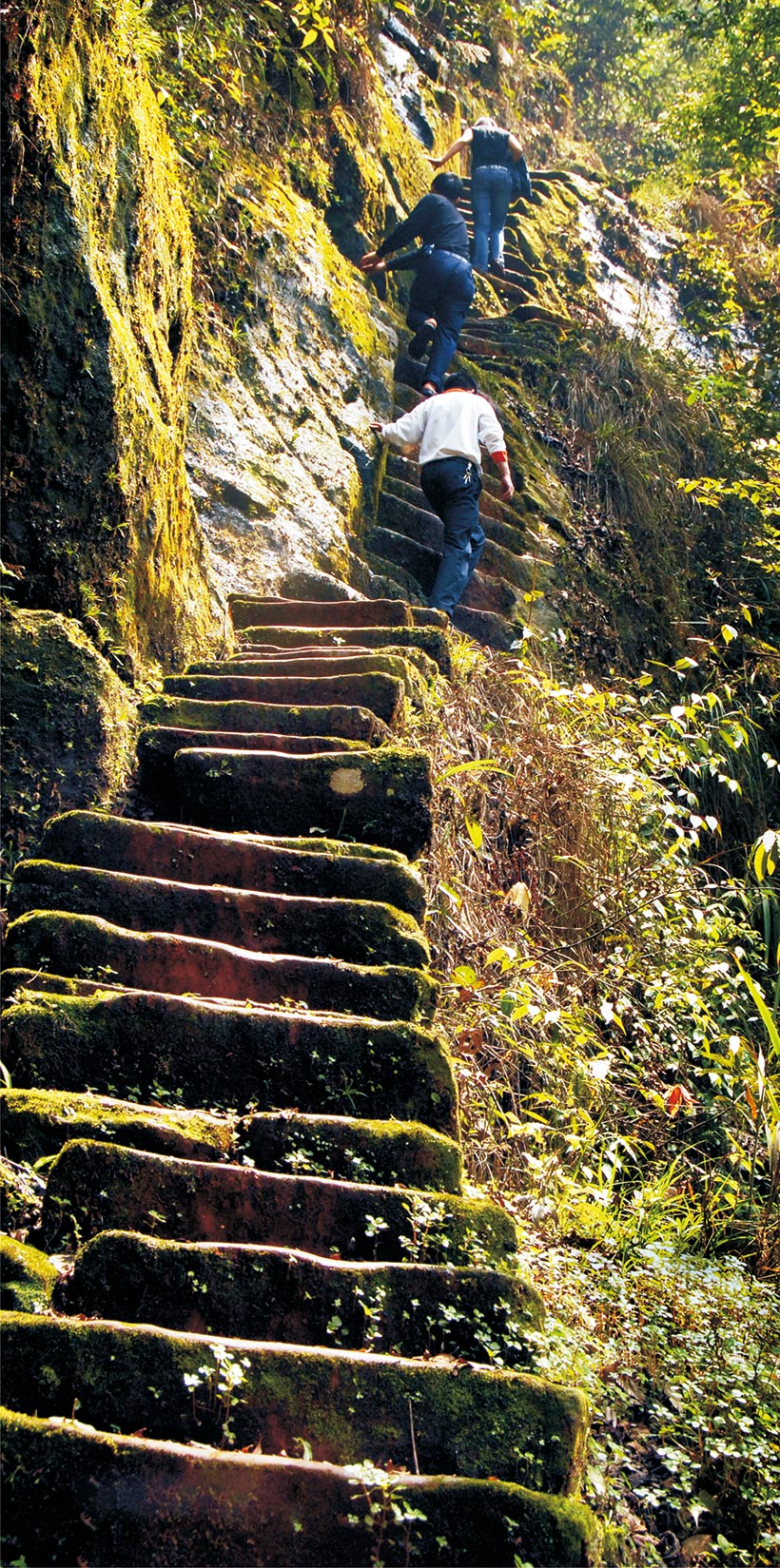 Love-story-happened-in-Simian-Mountain---Steps-to-the-Heaven,-photo-by-Zhang-Shuren
